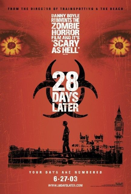 28 days later (2003) poster