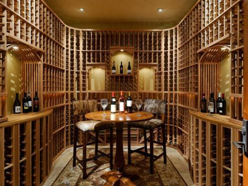 Want Your Wine Cellar To House Your Home Bar In