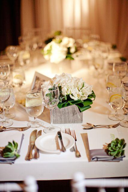 Dcoration De Mariage Les Succulentes La Marie En