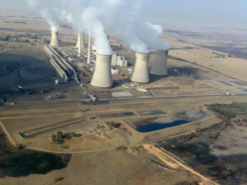 One of South Africa's coal power stations