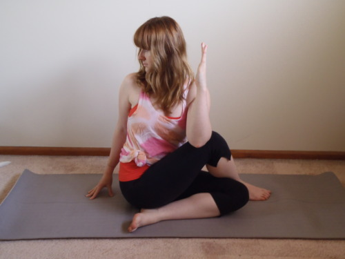 Seated Twist Variation 2