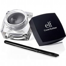 e.l.f. cream eyeliner in Charcoal