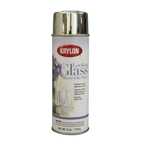Tut tuesday diy mercury glass proper for What kind of paint do you use to paint glass
