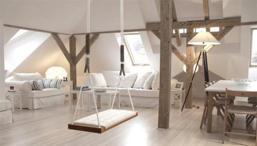Interior design blog  LLI Design London  Indoor swings