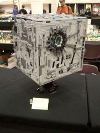BrickCon 2011: Lego Borg Cube MOC - derekgaw