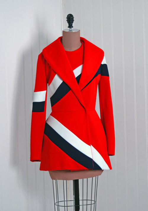 e4c629cbefcf87 Vintage 1960s Lilli Ann couture label mini dress with matching coat from  TimelessVixenVintage. $275.