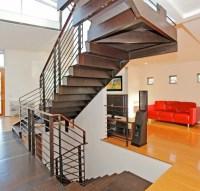 Unique Split Level Stairs