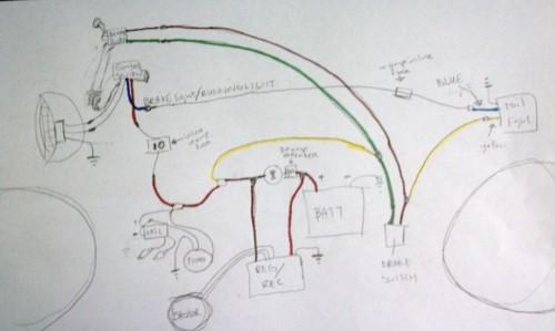 1981 Yamaha Xs400 Wiring Diagram Kick Start Only And A Wiring Diargam For Dummies Yamaha
