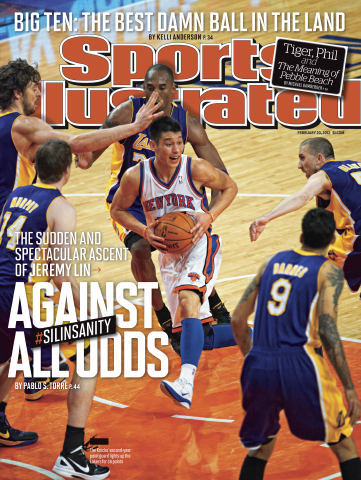 Jeremy Lin on the Cover of Sports Illustrated