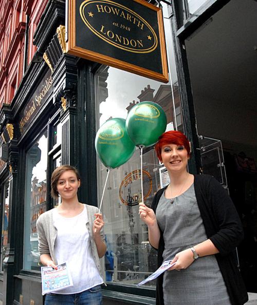 Olivia & Maddie Howarth of London