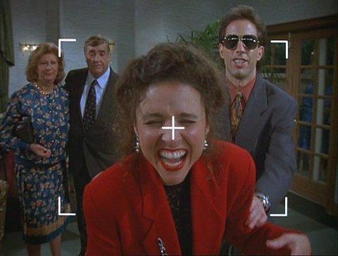 Bright WallDark Room TV MONTH Seinfeld 1990 1998
