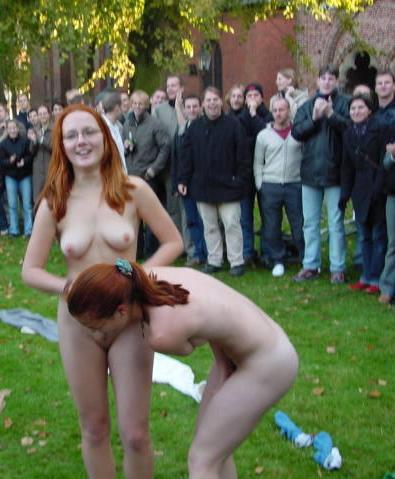 embarrassed girl no panties