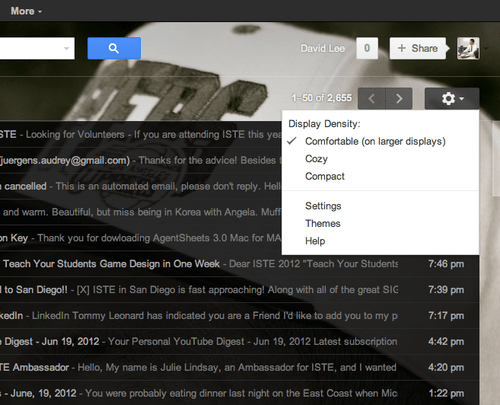 Customize your Gmail, Google Search, and Chrome themes | David Lee