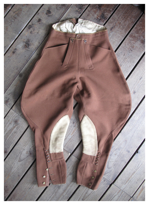 ROSPO  1920s English Horseriding Jumpers Breeches
