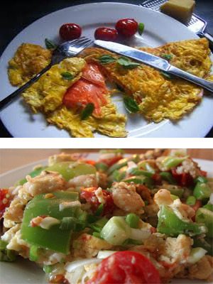 the right low carb breakfast foods