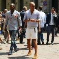 The men s issue tommy ton s street style milan for gq magazine
