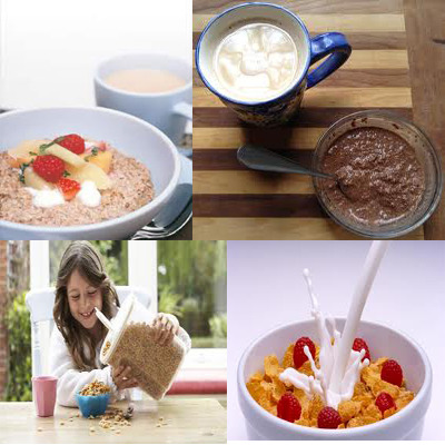 various low carb breakfast cereals