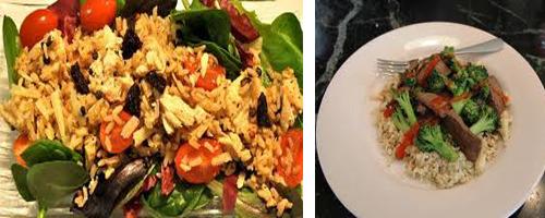 Eat low carb brown rice