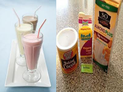 making low carb protein drinks