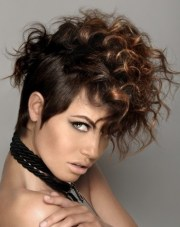 curly mohawk hairstyles 2012
