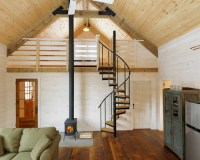 LOFT DESIGNS - Spiral Stair Mezzanine Lofts