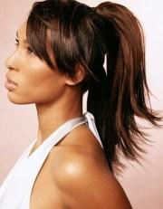ponytail hairstyles black women