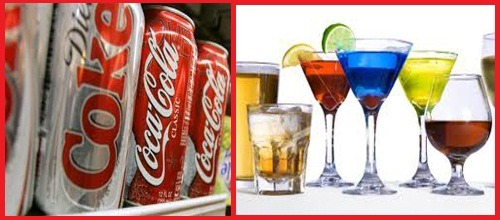 alcoholic drinks with diet coke