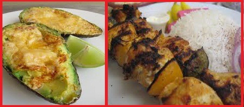 low carb grilled