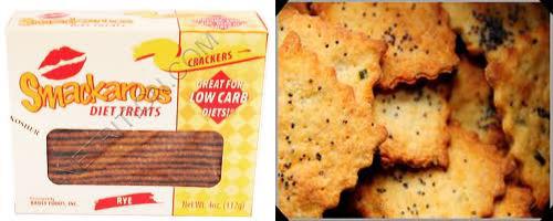 low carb cracker recipe items