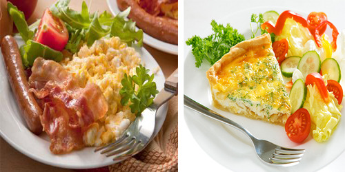 low carb foods for breakfast
