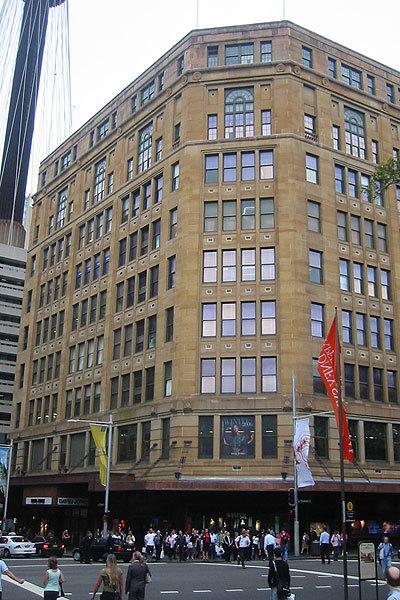 David Jones building, 1927