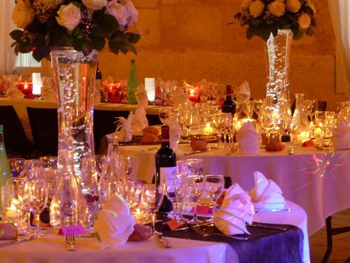 Dcoration Mariage Des Centres De Table Lumineux