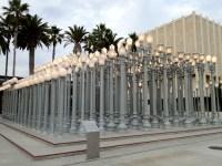 The Retrologist  Chris Burden's 'Urban Light' repurposes ...