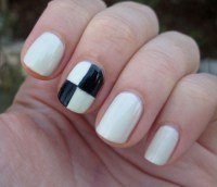 Nail Design With Tape