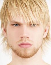 hairstyles men with blonde
