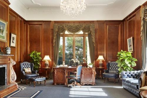 Beautiful fireplace, wood panelling is not ornate, so more Edwardian than Victorian era.