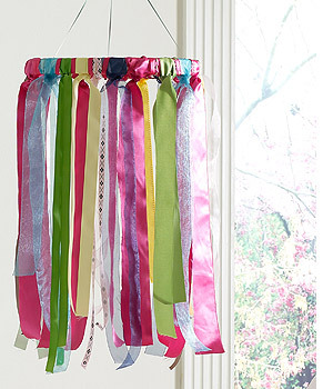 Young America Blog  DIY Craft Project Ribbon Mobile