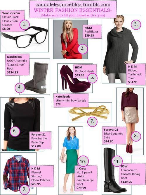 Casual Elegance Top 11 Fashions