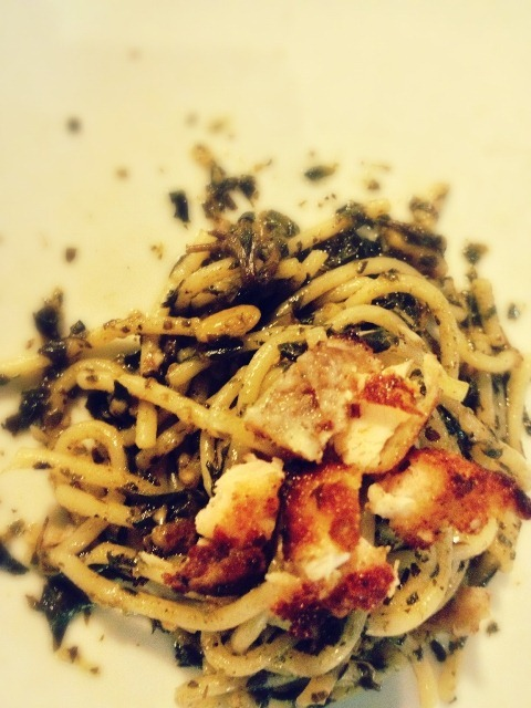 Chicken Pesto (Photo credited to @jeg83 in IG)