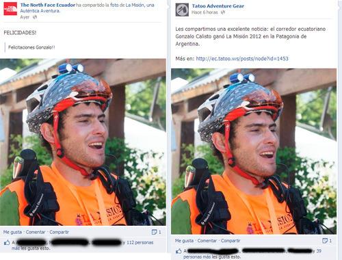 Deportes outdoor Ecuador en Facebook