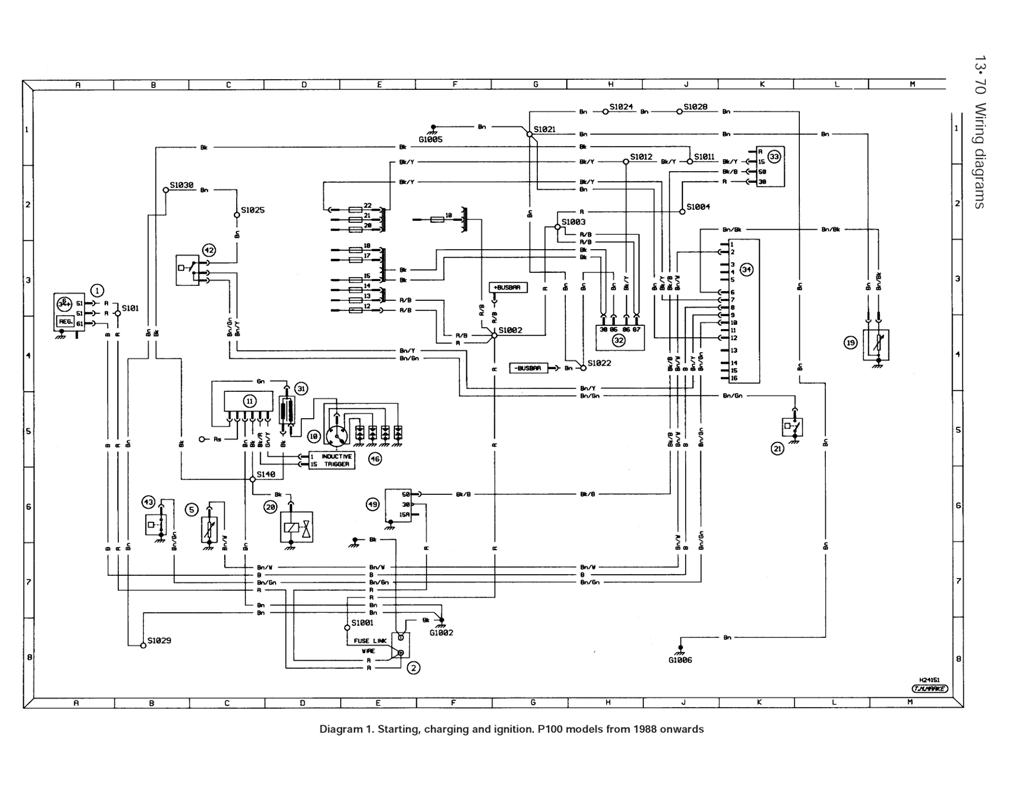 Ford Escort Alternator Wiring Diagram
