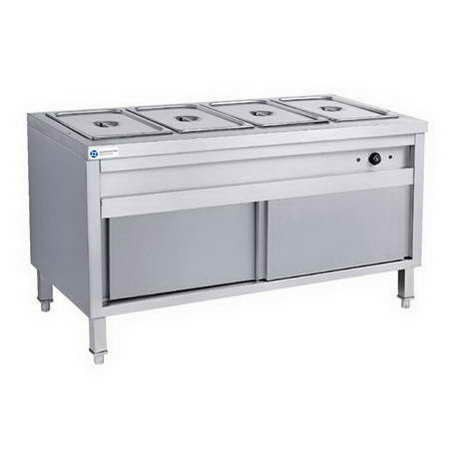 5 GN Pan Stainless Steel Commercial Bain Marie Food Warmer