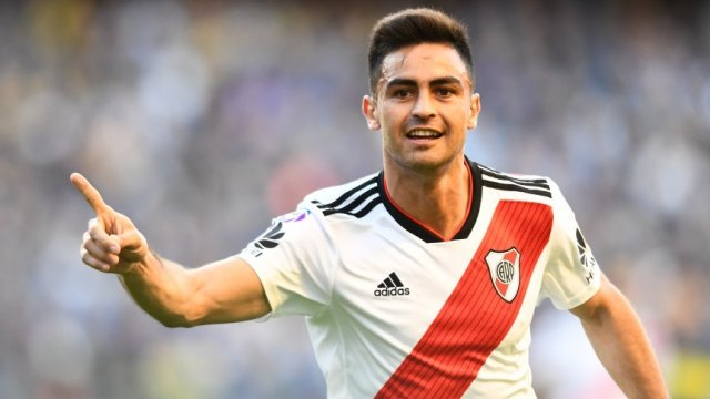 Pity Martínez: 'Si fuera por mí, estaría jugando en River'