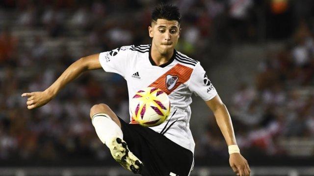 Palacios: 'Me estoy sintiendo bien y contento por volver a jugar'