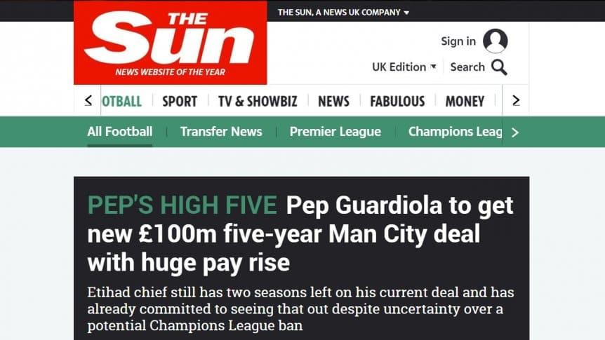 Manchester City quiere estirar el ciclo Guardiola con una fortuna de por medio