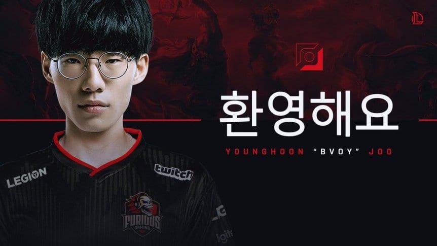 LoL: Furious Gaming incorporó a un jugador coreano - TyC Sports