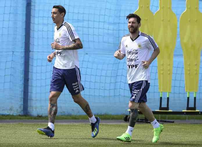 Di María reclamó un lugar en la Selección Argentina