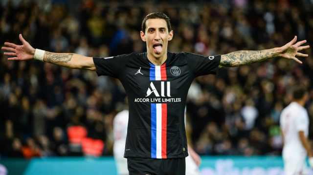 Di María se anotó en una nueva goleada de Paris Saint Germain