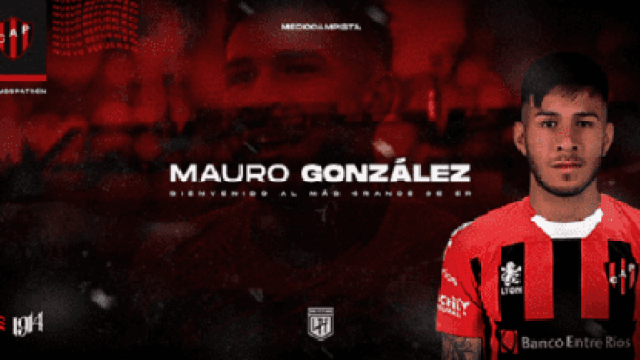 Mauro González se suma a Patronato