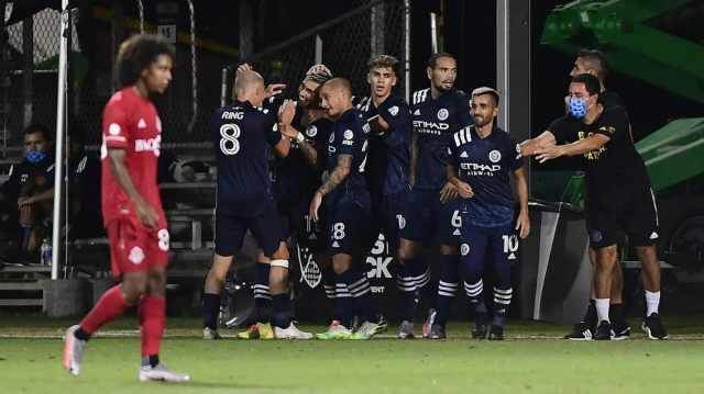 New York FC, a cuartos de final con goles de Castellanos y Moralez